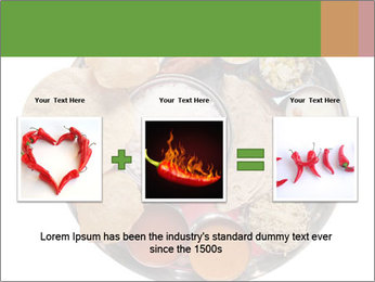 Traditional vegetarian indian PowerPoint Template - Slide 22