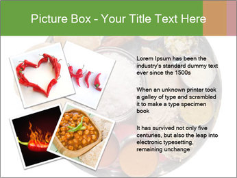 Traditional vegetarian indian PowerPoint Template - Slide 23
