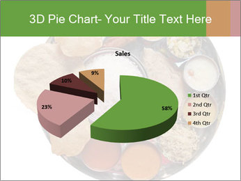 Traditional vegetarian indian PowerPoint Template - Slide 35
