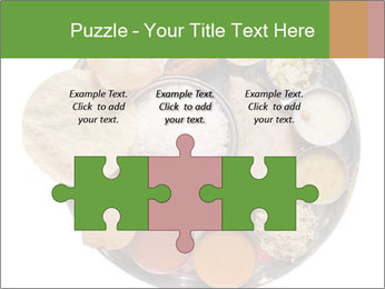 Traditional vegetarian indian PowerPoint Templates - Slide 42