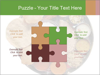 Traditional vegetarian indian PowerPoint Templates - Slide 43