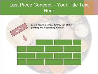 Traditional vegetarian indian PowerPoint Templates - Slide 46