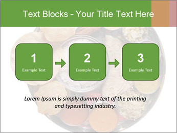 Traditional vegetarian indian PowerPoint Templates - Slide 71