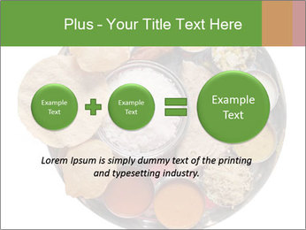 Traditional vegetarian indian PowerPoint Template - Slide 75