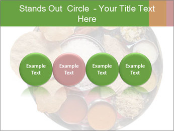 Traditional vegetarian indian PowerPoint Template - Slide 76
