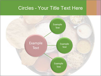 Traditional vegetarian indian PowerPoint Templates - Slide 79