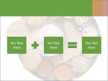 Traditional vegetarian indian PowerPoint Templates - Slide 95