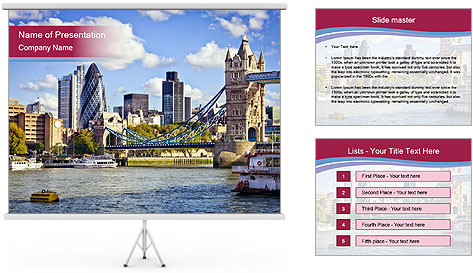 The Tower Bridge PowerPoint Template