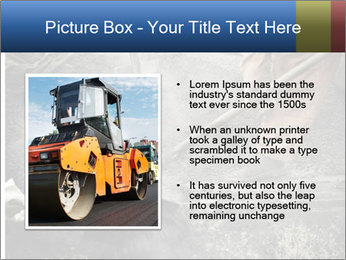 Asphalt worker PowerPoint Templates - Slide 13