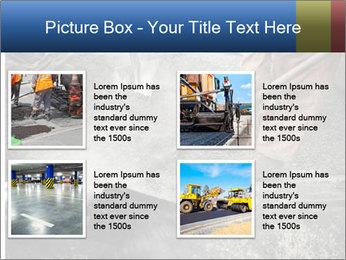 Asphalt worker PowerPoint Templates - Slide 14