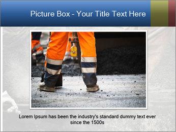 Asphalt worker PowerPoint Templates - Slide 16