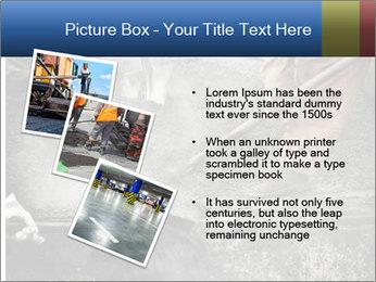 Asphalt worker PowerPoint Templates - Slide 17