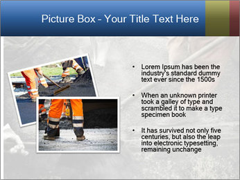 Asphalt worker PowerPoint Templates - Slide 20