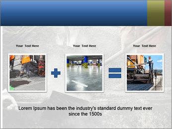Asphalt worker PowerPoint Templates - Slide 22