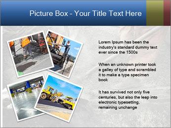Asphalt worker PowerPoint Templates - Slide 23