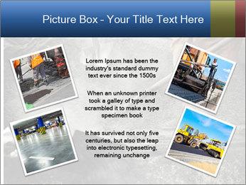 Asphalt worker PowerPoint Templates - Slide 24