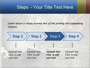 Asphalt worker PowerPoint Templates - Slide 4