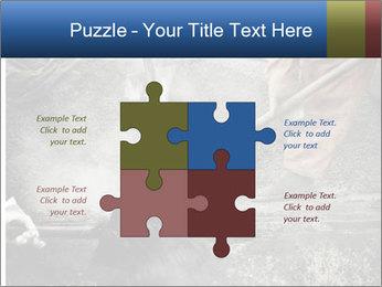 Asphalt worker PowerPoint Templates - Slide 43