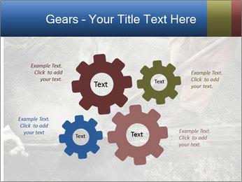 Asphalt worker PowerPoint Templates - Slide 47