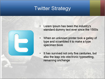 Asphalt worker PowerPoint Templates - Slide 9