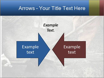 Asphalt worker PowerPoint Templates - Slide 90