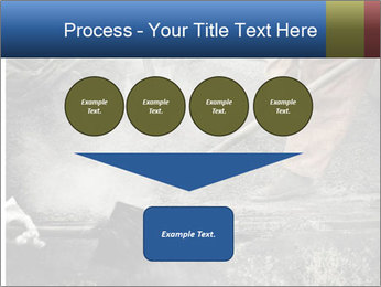 Asphalt worker PowerPoint Templates - Slide 93