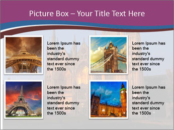 United Kingdom, night PowerPoint Templates - Slide 14