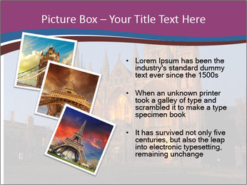 United Kingdom, night PowerPoint Templates - Slide 17