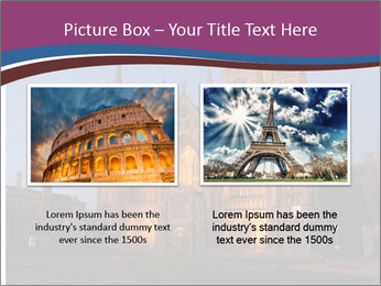 United Kingdom, night PowerPoint Templates - Slide 18