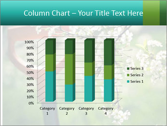 Blooming cherry branch and shovel PowerPoint Templates - Slide 50
