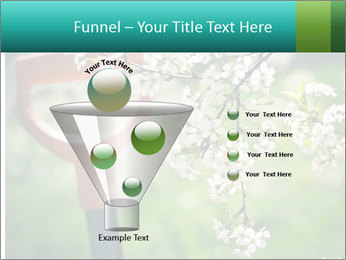 Blooming cherry branch and shovel PowerPoint Templates - Slide 63