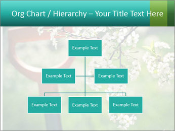 Blooming cherry branch and shovel PowerPoint Templates - Slide 66