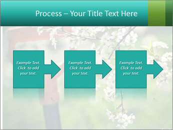 Blooming cherry branch and shovel PowerPoint Templates - Slide 88