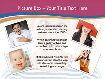 Woman  a funny look PowerPoint Template - Slide 24
