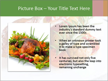 Meat with vegetables PowerPoint Template - Slide 13