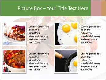 Meat with vegetables PowerPoint Template - Slide 14