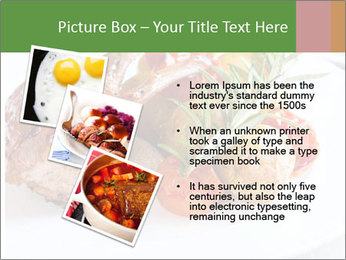 Meat with vegetables PowerPoint Template - Slide 17