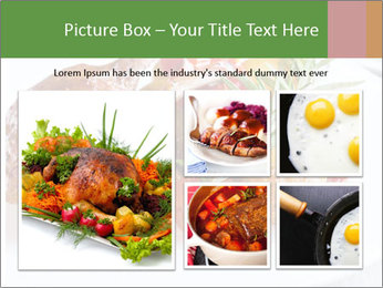 Meat with vegetables PowerPoint Template - Slide 19