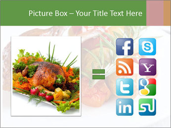 Meat with vegetables PowerPoint Templates - Slide 21