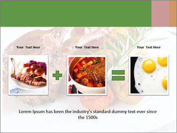 Meat with vegetables PowerPoint Template - Slide 22