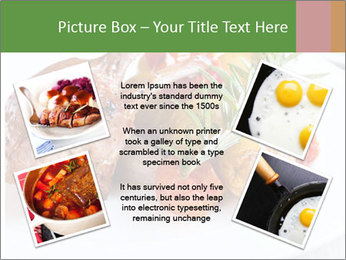 Meat with vegetables PowerPoint Template - Slide 24