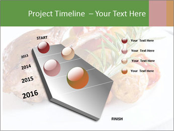 Meat with vegetables PowerPoint Templates - Slide 26