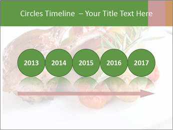 Meat with vegetables PowerPoint Template - Slide 29
