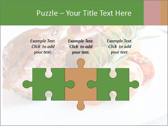 Meat with vegetables PowerPoint Templates - Slide 42