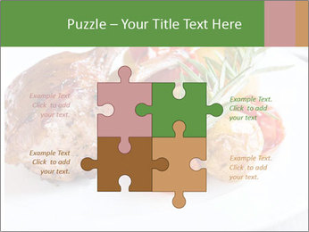 Meat with vegetables PowerPoint Templates - Slide 43