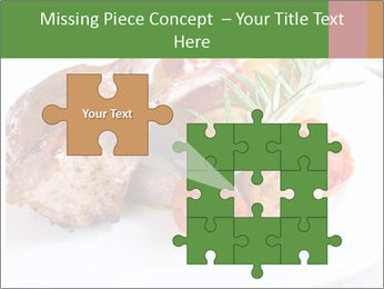 Meat with vegetables PowerPoint Templates - Slide 45