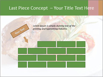 Meat with vegetables PowerPoint Templates - Slide 46