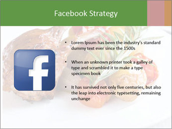 Meat with vegetables PowerPoint Template - Slide 6