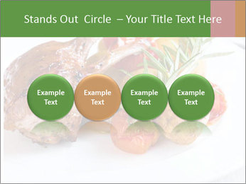 Meat with vegetables PowerPoint Templates - Slide 76