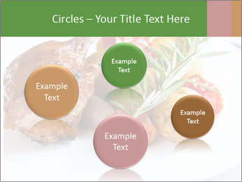 Meat with vegetables PowerPoint Template - Slide 77